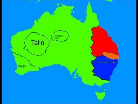 Alternate Future of Australia part 1