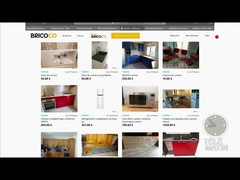 bricoco le site de bricolage entre particuliers youtube. Black Bedroom Furniture Sets. Home Design Ideas