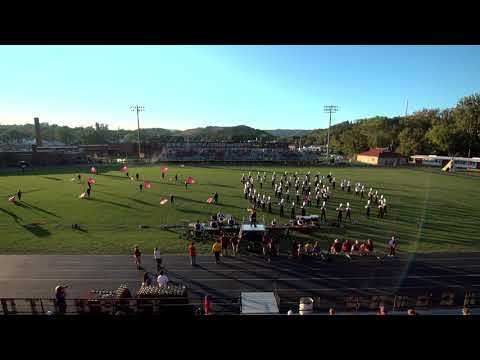 Tennessee High School Mighty Viking Band Chilhowie Band Festival 2017