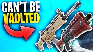 This is the REAL REASON why Fortnite will NOT VAULT these weapons! | Tactical Shotgun,Scar & More!