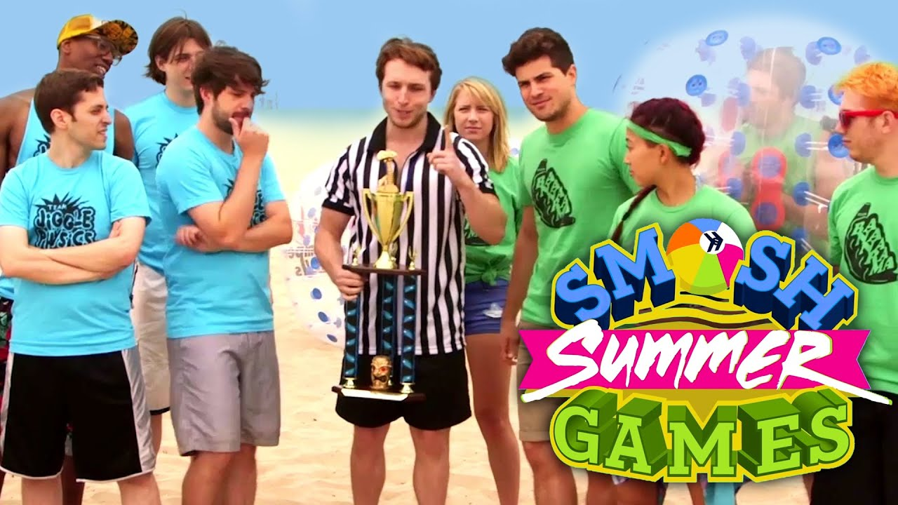 MORE FUN WITH OUR BALLS (Smosh Summer Games) - YouTube