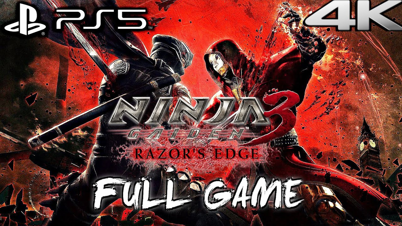 Download NINJA GAIDEN 3 RAZOR'S EDGE PS5 Gameplay Walkthrough FULL GAME (4K 60FPS) No Commentary