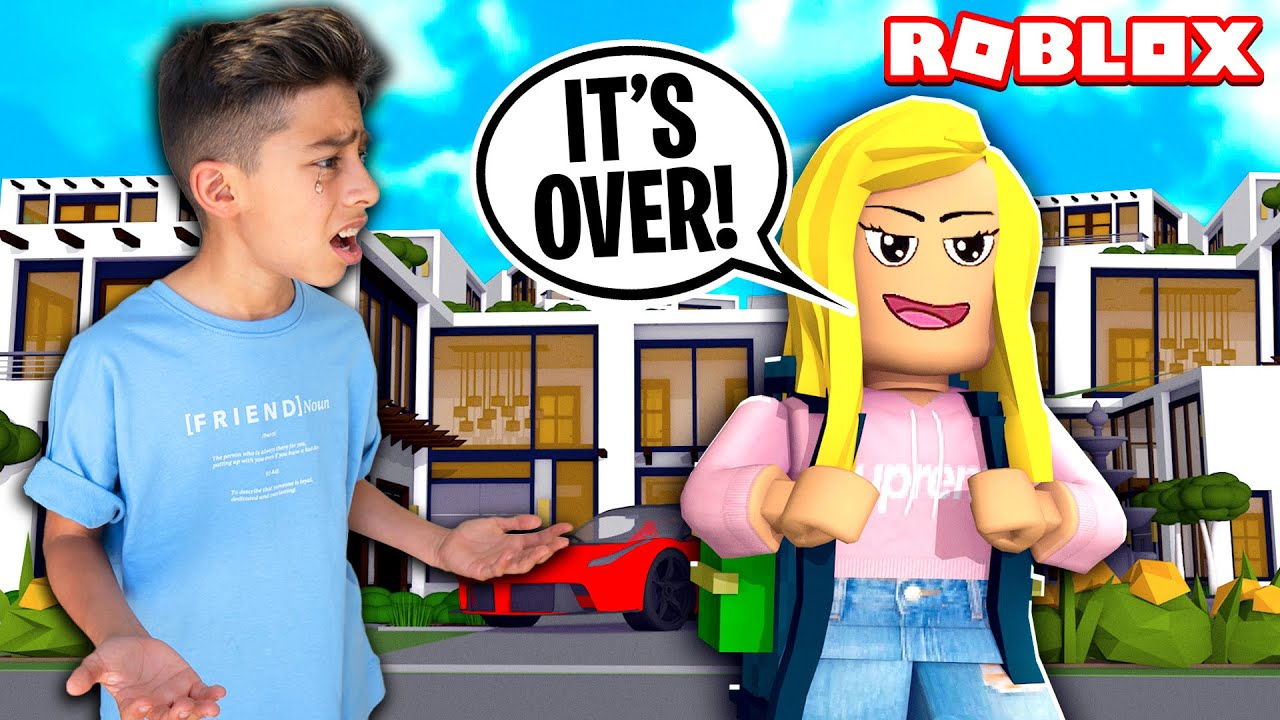Ferran's Crush LEFT HIM in Roblox Brookhaven... | Royalty Gaming