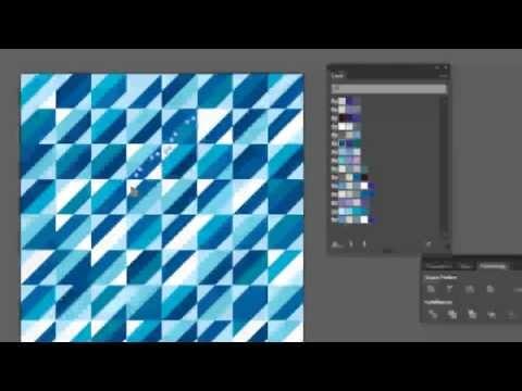 การสร้างภาพแถบสีพื้นหลัง - Color stripe background