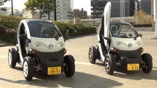 日産自動車の超小型EV「NISSAN New Mobility Concept」