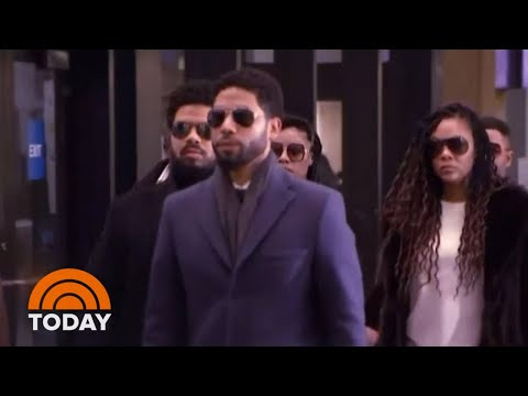 Jussie Smollett Pleads Not Guilty To 16 Felony Charges   TODAY