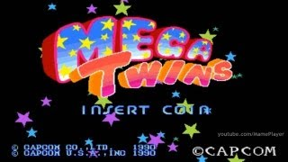 Mega Twins 1990 Capcom Mame Retro Arcade Games