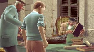 The Adventures of Tintin - Intro Gameplay (part 1 of 3)