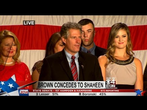 Scott Brown Concedes To Jeanne Shaheen