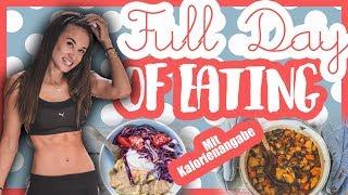 Gesundes Food Diary - Full Day Of Eating - Mit Kalorienangaben - Fitness & Ernährung