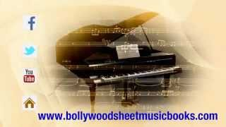 AAPKI NAZRON BOLLYWOOD SHEET MUSIC ON PIANO