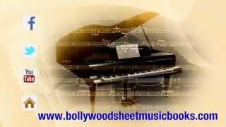 AAPKI NAZRON BOLLYWOOD SHEET MUSIC ON PIANO