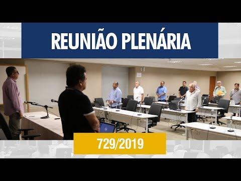 729ª Reunião Plenária - Crea-AL
