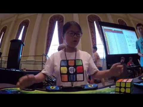5.37 Official Rubik's Cube Single! [FEMALE WORLD RECORD]