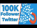 Twitter! How to  Get Unlimited Twitter Followers Real [Urdu/Hindi] (2018)