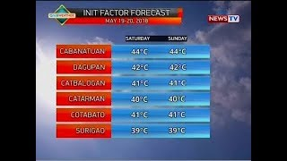 QRT: Weather update as of 5:51 p.m. (May 18, 2018)