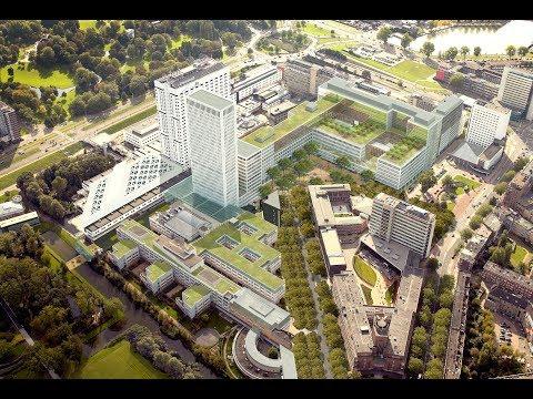 8 jaar bouwen - oplevering Erasmus MC Rotterdam