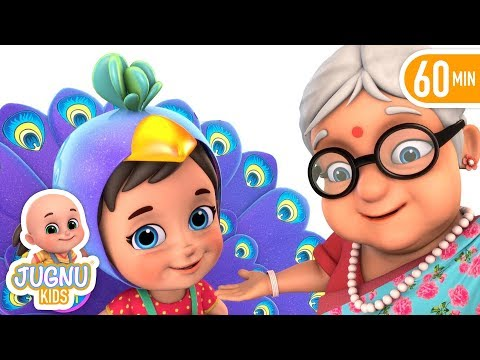 Nani Teri Morni Ko More Le Gaye | Hindi Poems | Hindi Rhymes For Children | By Jugnu Kids