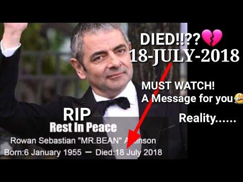 Mr Bean Dead