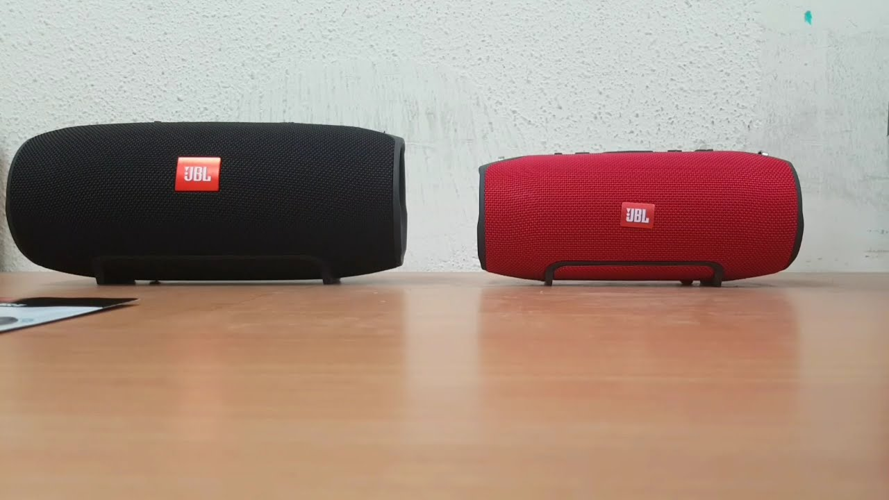 How To Spot A Fake Jbl Xtreme Unboxing Youtube Bluetooth Speaker Charge 3 Merah