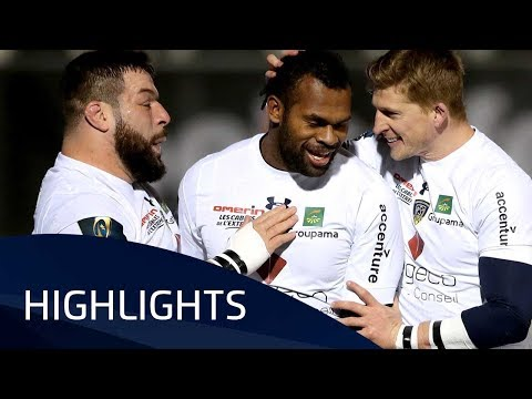 Saracens v ASM Clermont Auvergne (P2) - Highlights – 11.12.2017
