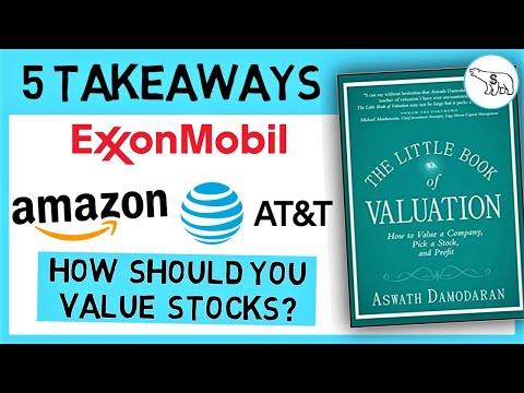 THE LITTLE BOOK OF VALUATION (BY ASWATH DAMODARAN)