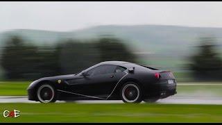 Ferrari 599 HGTE INSANE SOUND (WET TRACK)