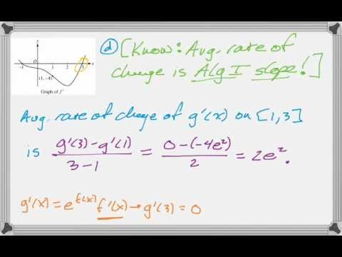 Calc AB & Calc BC 2009 (Form B) #5 - YouTube