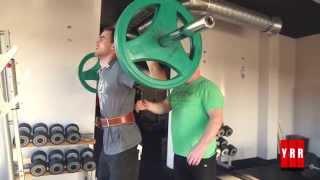 #Паркур в ТА : Жим, тяга, приседания и прыжки! YRR