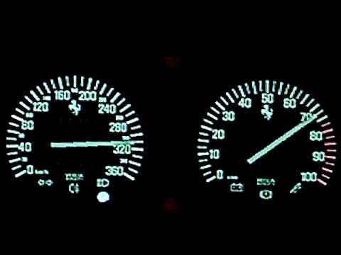 [HD] GT5: Ferrari F40 Top Speed Run
