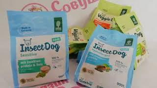 Корм на основе протеина насекомых Green Petfood Insectdog Грин Пет Фуд ИнсектДог