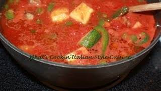 Mom's Italian Beef Stew Recipe