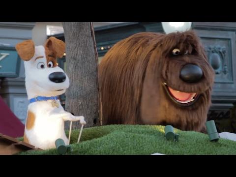 Secret Life of Pets Float at Superstar Parade, Universal Studios Florida, Universal Orlando Resort