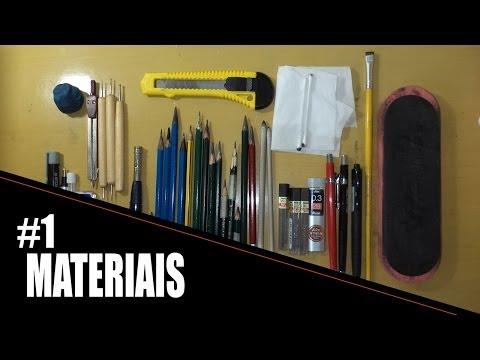 Aula 1   Materiais para desenho realista