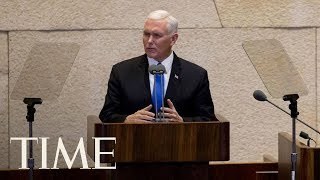 U.s. Will Move Embassy To Jerusalem Next Year, Vows Vice President Pence In Israel | Time