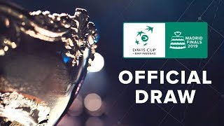 Follow the Davis Cup Madrid Finals Draw