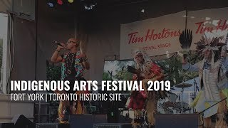 Indigenous Arts Festival - Fort York | Toronto Historic Site (Live Performance ft. Elberlyn)