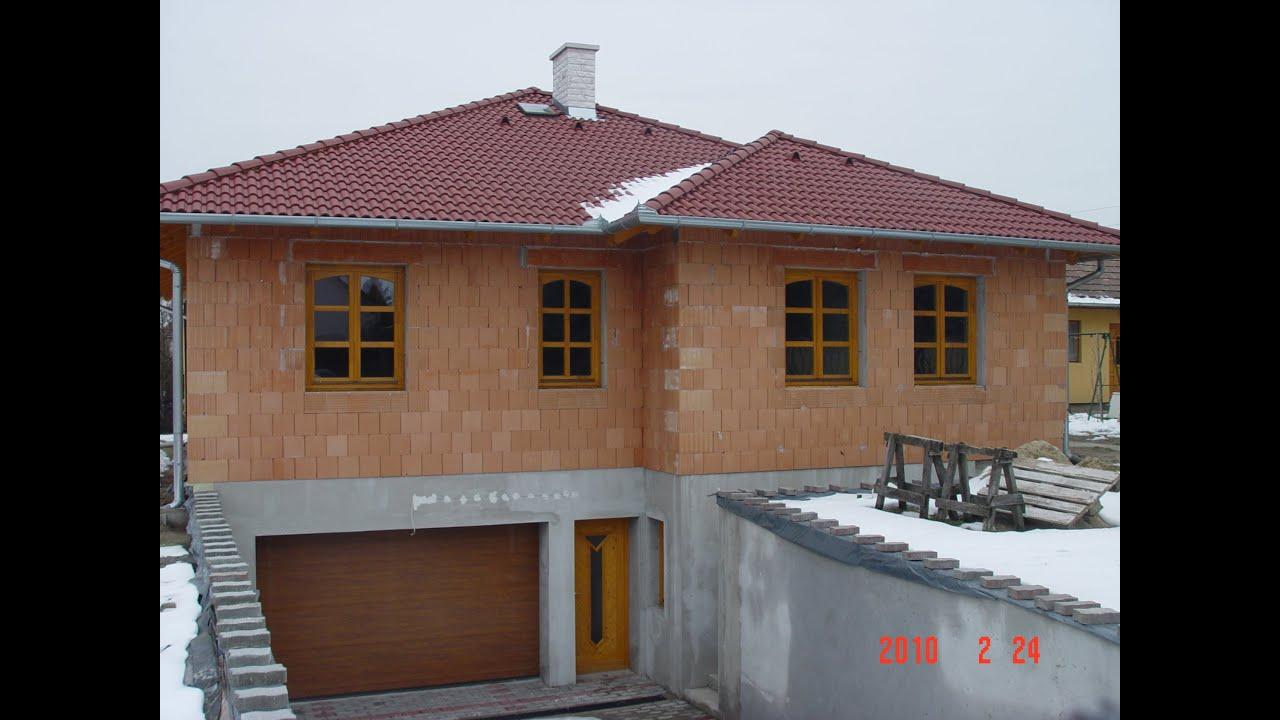 Házépítés, Passzívház, családi ház építés Porotherm HS Profi ...