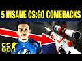 Top 5 Best Comebacks in CS:GO History