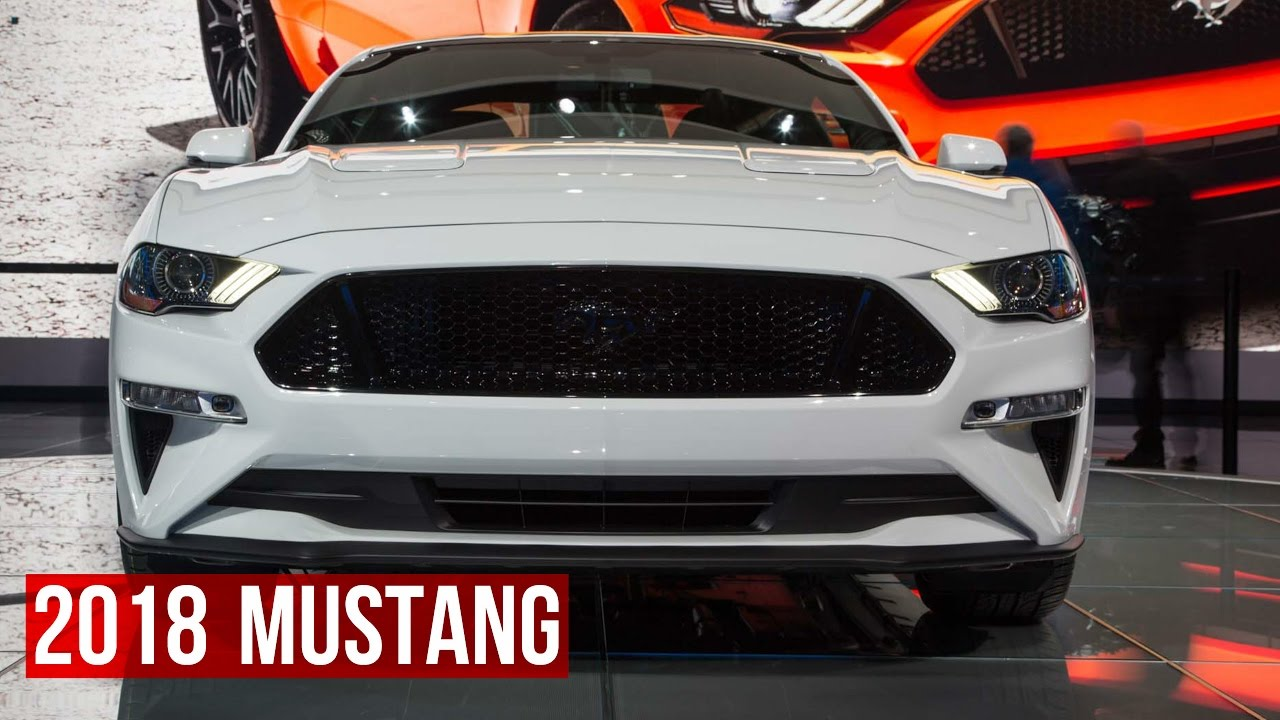 2018 Ford Mustang Official