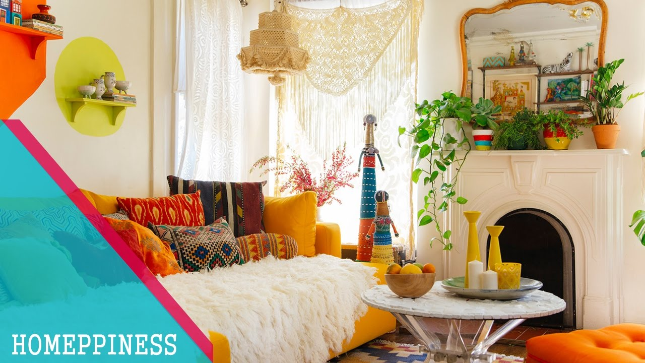 Must look 40 stylish bohemian living room decorating for 40s room decor