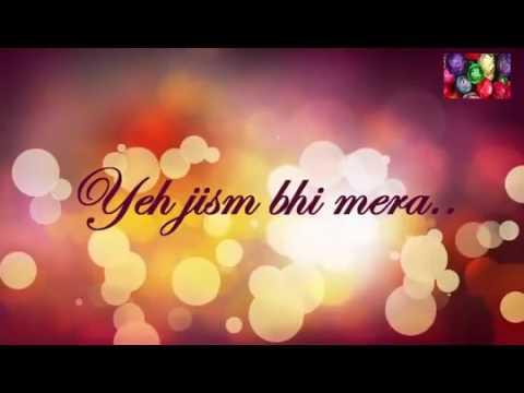 Ae Dil Hai Mushkil (Title track) Karaoke | No background vocals karaoke with Lyrics | Arijit Singh thumbnail