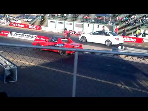 Vauxhall VS C63 and Fastest CLS 55 in SA Tarlton Drag W