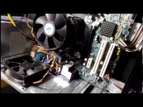 Pc startup problems- fan spins for a second and stops