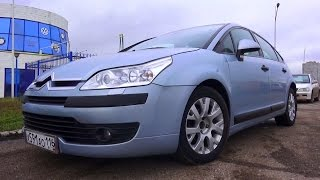 2007 Citroën С4. Start Up, Engine, and In Depth Tour.