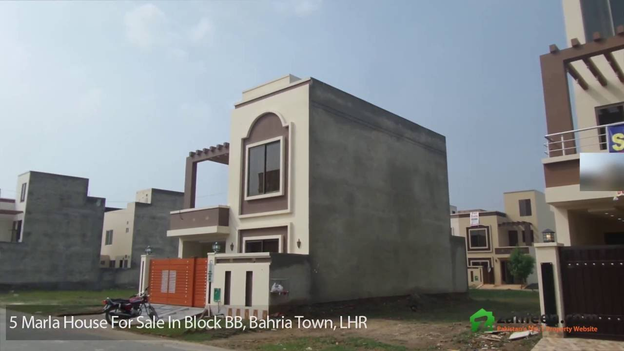5 Marla House Is Available For Sale In Bahria Town Sector