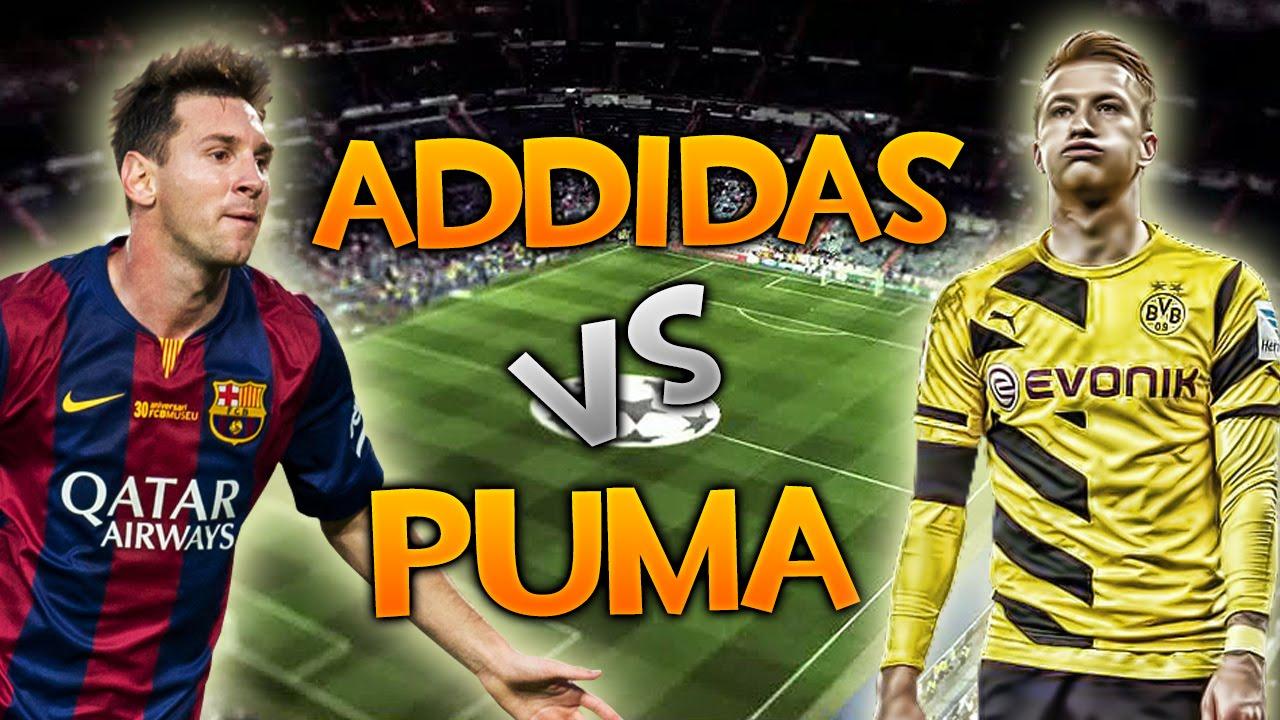 Intermedio licencia llamar  ADIDAS VS PUMA ¿QUE EQUIPO ES MEJOR? - FIFA 15 - YouTube