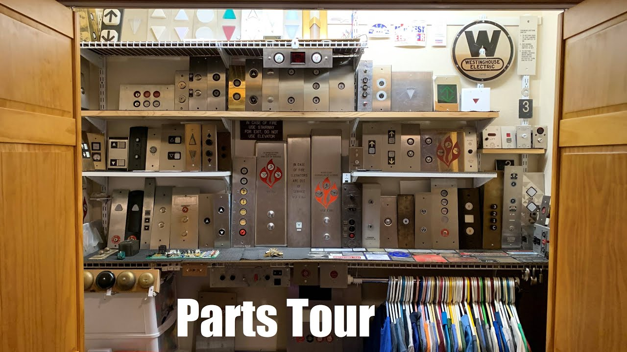Elevator Parts Tour (as of 6-28-20)