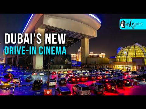 Dubai's New Drive-In Cinema At The Vox Cinema At The Mall Of Emirates   Curly Tales