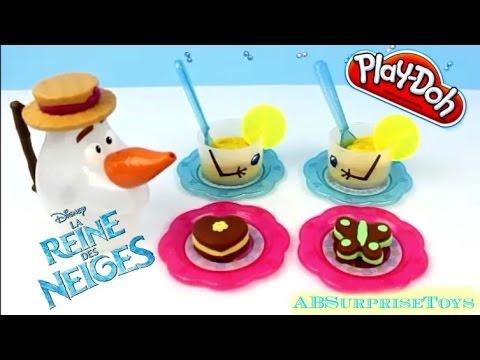 play doh p 226 te 224 modeler service 224 th 233 glac 233 d olaf ou olaf tea set أولاف من فيلم ملكة الثلج